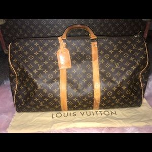 Authentic Louis Vuitton keepall 55 travel duffle